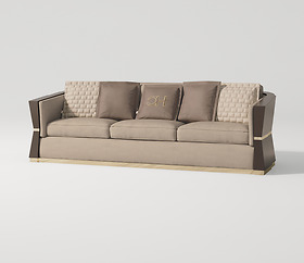 Sofa ghế ba Carpanese Home - Art.7539