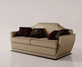 Sofa ghế đôi Carpanese Home - Art.7036