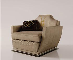 Sofa ghế đơn Carpanese Home - Art.7037