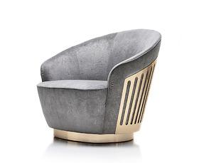 Sofa ghế đơn Giorgio - Charisma Art.280/01/Da 1112