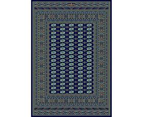 Thảm Atlantik Kayra 0333A N4253 Navy/Turquoise