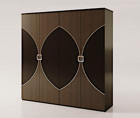 Tủ quần áo 4 cánh Carpanese Home - Art.7026