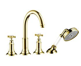 Vòi cấp bồn Hansgrohe - Axor Montreux 16544990+14445180 Gold