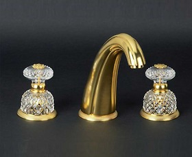 Vòi chậu Cristal et Bronze - 25431