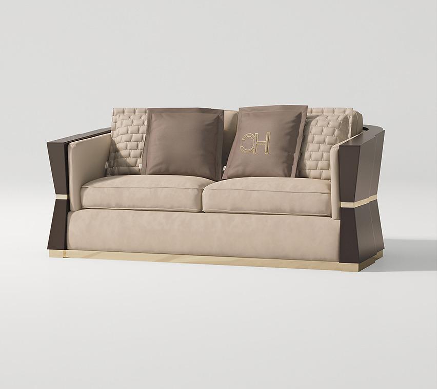 Sofa ghế đôi Carpanese Home - Art.7536