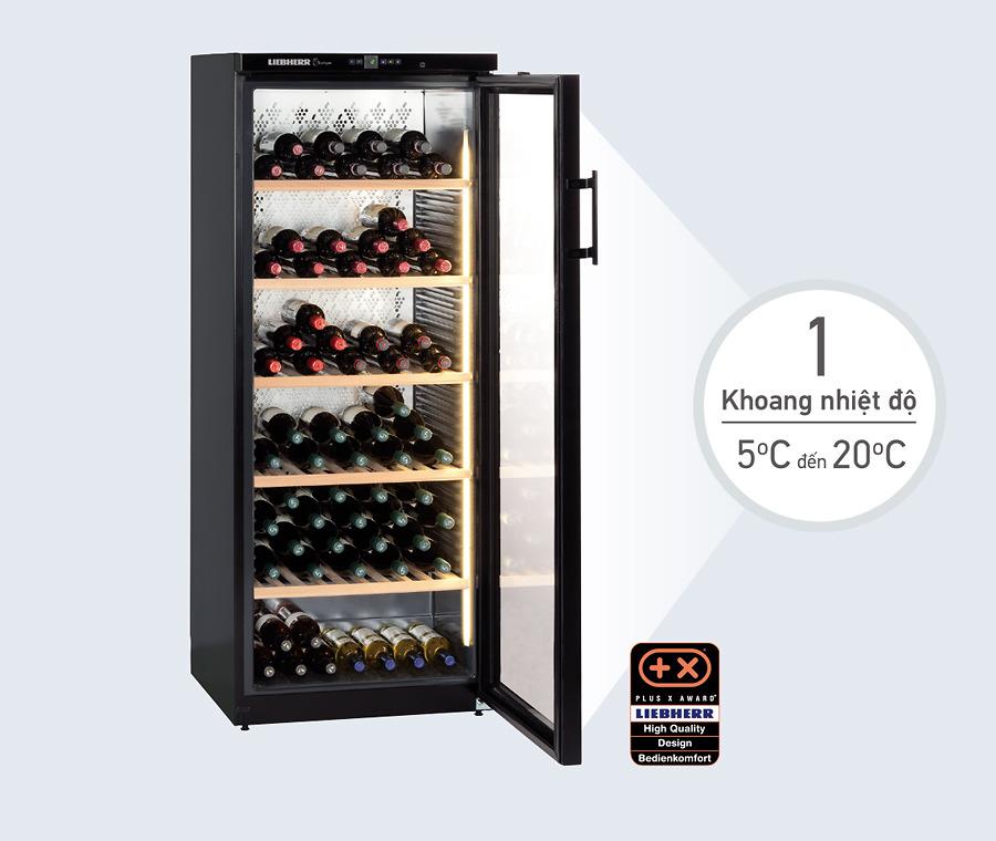 Tủ rượu Liebherr WKb 4112