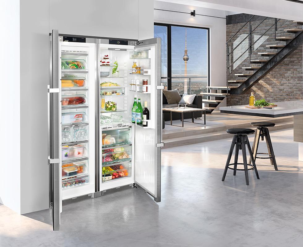 Tủ Lạnh Liebherr SBSes 8683