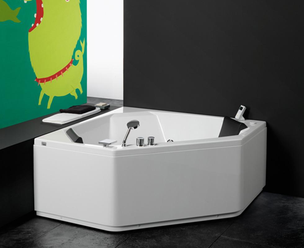 Bồn tắm massage Glass - Eden 150 x 150