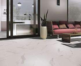 Gạch vân đá marble Statuario Puro