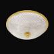 Đèn ốp trần Cristal et Bronze - Plafonniers 34204