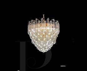 Đèn chùm Novaresi - 10005/55SQ/ Gold