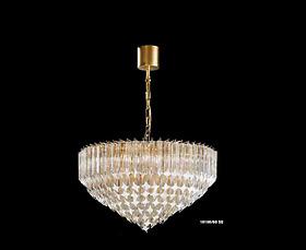 Đèn chùm Novaresi - 10100/60SQ/ Gold