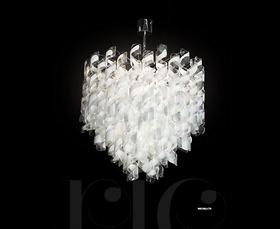 Đèn chùm Novaresi - Riccioli/75/ Gold