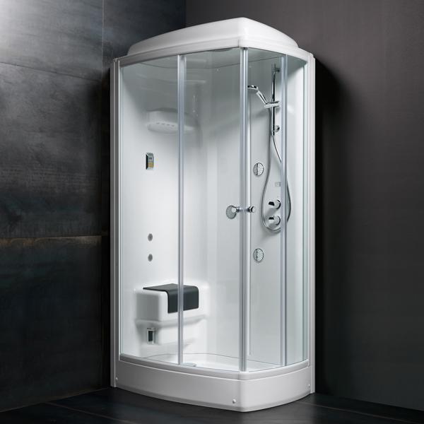 Bồn tắm xông hơi Glass - TECHNO